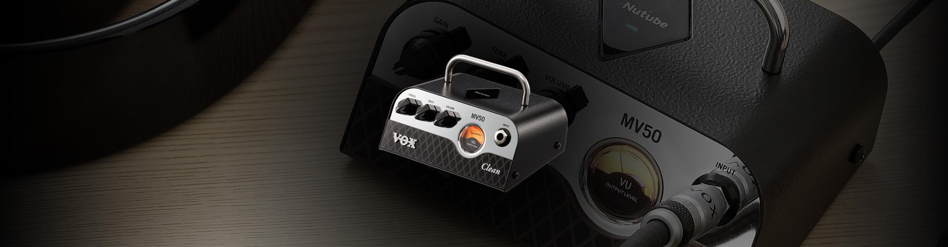 VOX MV50 clean guitar amp
