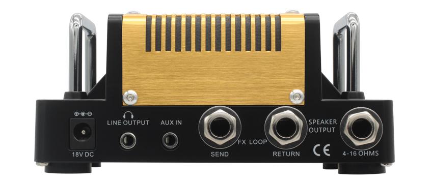 Hotone Nano Legacy Mojo Diamond guitar amp rear